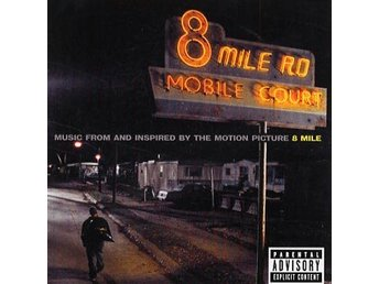 Eminem: 8 mile 2002 (Soundtrack) (CD) Ord Pris 79 kr SALE