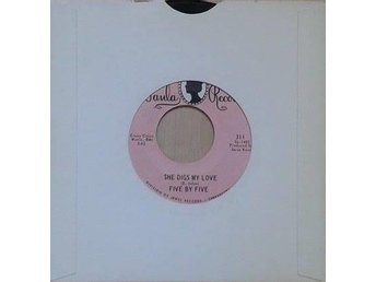 Five By Five title* She Digs My Love* Psych Rock US 7""