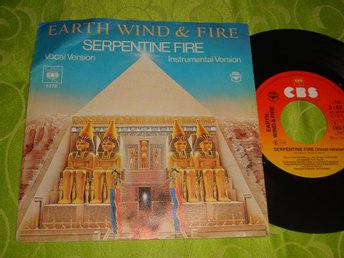 "EARTH WIND & FIRE - SERPENTINE FIRE 7"" 1977"