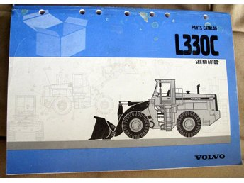 VOLVO L330C WHEEL LOADER PARTS CATALOG BOOK MANUAL