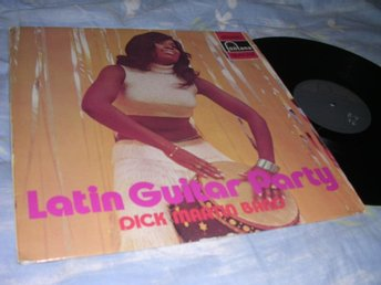 Dick Martin Band - Latin Guitar Party (LP) VG+/EX
