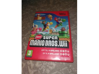 Wii New Super Mario Bros Wii -1kr-