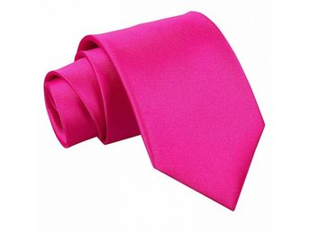 Hot pink satin slips _ Regular