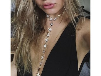 Halsband- starfall necklace bodychain