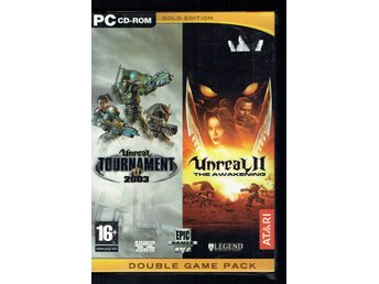Unreal tournament + Unreal 2 the awakening (Inplastad)