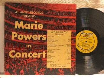 MARIE POWERS - IN CONCERT