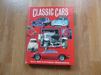 Classic Cars Engelsk text 1992