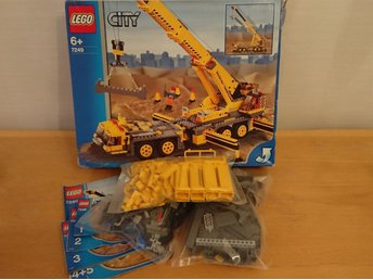 LEGO City 7249 XXL Mobile Crane