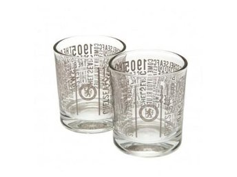 Chelsea Whiskeyglas Text 2-Pack
