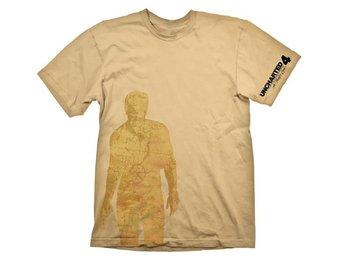 Uncharted 4 T-Shirt - Nathan Drake Map (L)