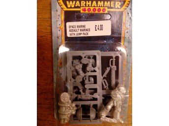 Warhammer 40K Space Marine Blister - Assault Marines With Jump Pack