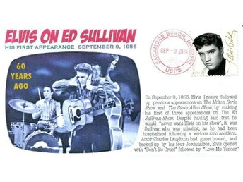 60th Anniversary Elvis on Ed Sullivan Show Event Cover