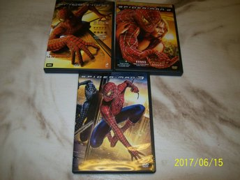 Spindelmannen 1, 2 & 3 (DVD)