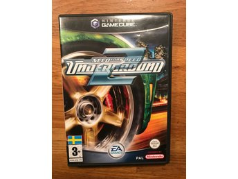 Nintendo GameCube Need for speed underground 2