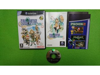 Final Fantasy Crystal Chronicles SVENSK UTGÅVA KOMPLETT Gamecube Nintendo