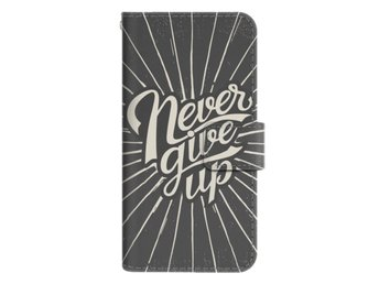 Samsung Galaxy S7 Plånboksfodral Never Give Up
