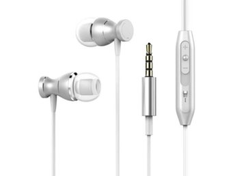 TOMKAS In-ear Magnetic SILVER