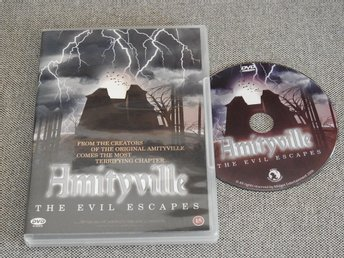 Amityville DVD - The Evil Escapes