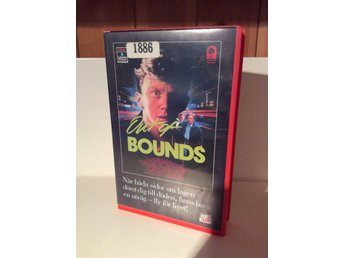 Out of bounds. Gammal VHS från 1988. colombia pictures. Video trade