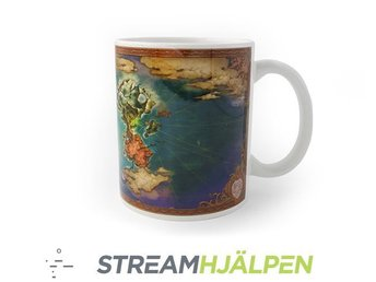 "Streamhjälpen: Ni No Kuni II ""World Map"" Mug"