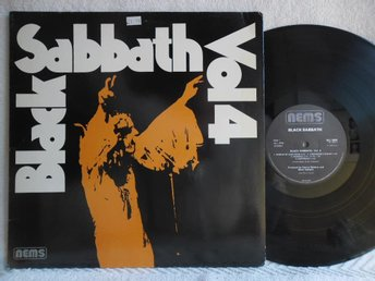 BLACK SABBATH - VOL 4 - NEL 6005