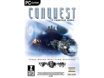 CONQUEST Frontier Wars / underbart PC spel  / NY <----