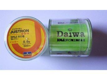 0,128 mm Daiwa 500m Stark GUL Nylon Fiskelina- Test 2,4 kg belastning. - Uddevalla - 0,128 mm Daiwa 500m Stark GUL Nylon Fiskelina- Test 2,4 kg belastning. - Uddevalla