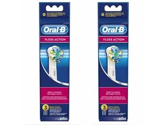 *** DAGENS FYND *** Oral-B Floss Action, 6 st Tandborsthuvuden - Ulricehamn - *** DAGENS FYND *** Oral-B Floss Action, 6 st Tandborsthuvuden - Ulricehamn