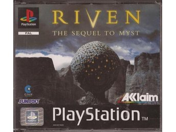 RIVEN - THE SEQUEL TO MYST  - PS1/PS2 Komplett