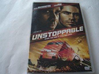 DVD-UNSTOPPABLE 'Denzel Washington, Chris Pine* - östersund - DVD-UNSTOPPABLE 'Denzel Washington, Chris Pine* - östersund