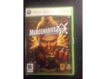Mercenaries 2, World In Flames. Xbox 360.