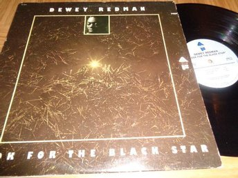 Dewey Redman Lp skiva  Look For The Black Star  från 1975