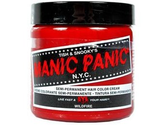 Manic Panic Hårfärg Semipermanent Wild Fire Snabb Leverans - Varberg - Manic Panic Hårfärg Semipermanent Wild Fire Snabb Leverans - Varberg