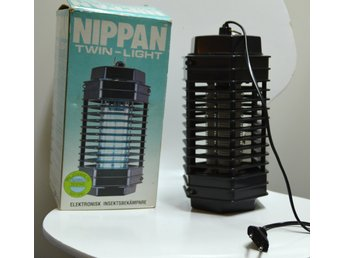 Nippan Twin Light - Elektronisk Insektsbekämpare