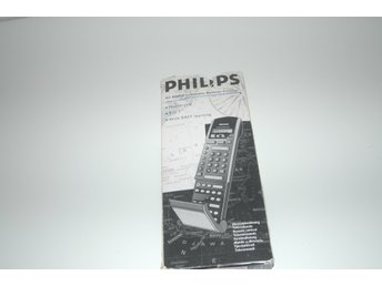 PHILIPS RC 9500/A LEARNABLE  REMOTE CONTROL