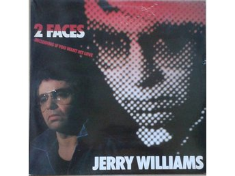 Jerry Williams  titel*  2 Faces*  Rock, Rock & Roll LP SWE