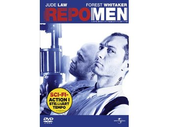 Repo Men (Jude Law, Forest Whitaker) - DVD INPLASTAD