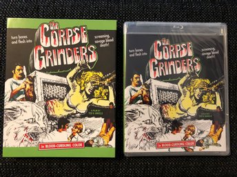 THE CORPSE GRINDERS  (1971, VINEGAR SYNDROME, LIMITED SLIPCOVER, BLU-RAY)