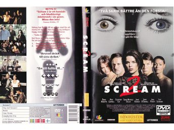 Scream 2 1997 DVD