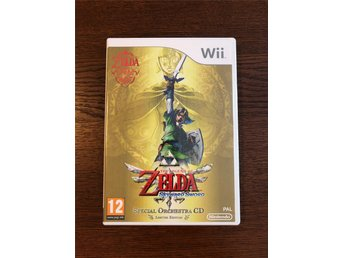 Nintendo Wii - The Legend Of Zelda Skyward Sword