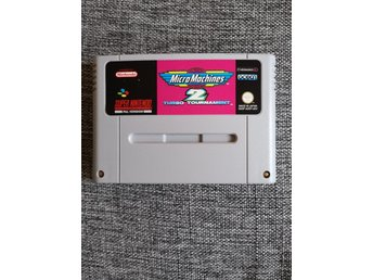 Micro Machines 2 Turbo Tournament SNES Super Nintendo