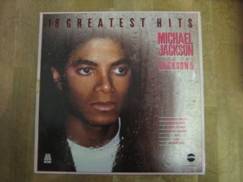 Michael Jackson Plus The Jackson 5- 18 Greatest Hits (LP) Toppskick!
