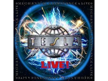 Tesla: Mechanical resonance Live (Ltd) (2 Vinyl LP) FRAKTFRITT