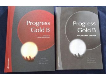 Progress gold B +  Vocabulary Trainer ISBN: 9789144035611
