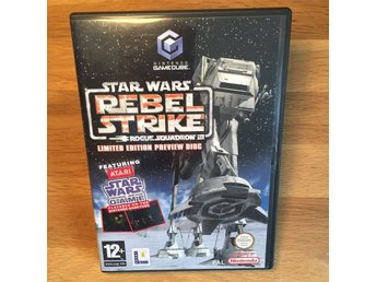 Star Wars Rebel Strike - Nintendo Game Cube - PAL - UKV