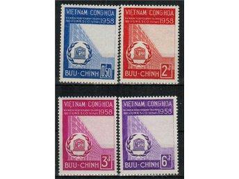 Vietnam (Syd) UNESCO 4v.kpl/** 1958 - Nybro - Vietnam (Syd) UNESCO 4v.kpl/** 1958 - Nybro