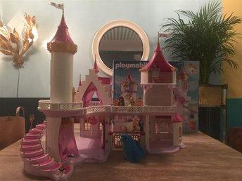 Playmobil prinsesslott med originalkartong och alla delar i nyskick - Skarpnäck - Playmobil prinsesslott med originalkartong och alla delar i nyskick - Skarpnäck