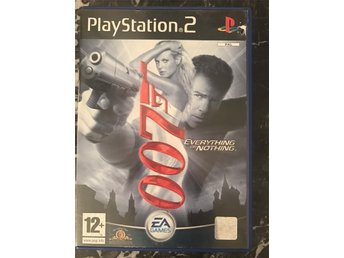 james bond 007 everything or nothing play station 2 ps2 spel