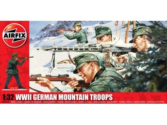 Airfix 1/32 WWII German Mountain Troops - Skoghall - Airfix 1/32 WWII German Mountain Troops - Skoghall