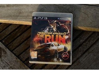 Playstation 3 PS3 NFS Need for Speed The Run